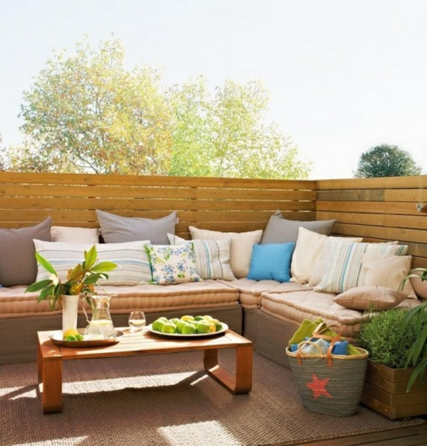 cozy terrace set up design ideas