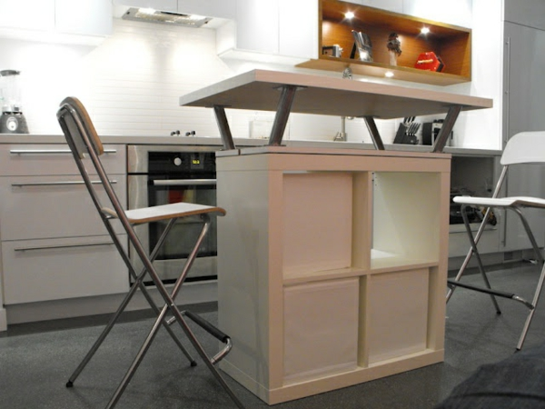 Portable great kitchen island chair
