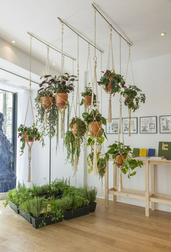 diy-planter-hanging-and-on-the-ground