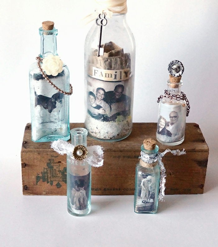 deco bottles glass bottles decorate deco ideas