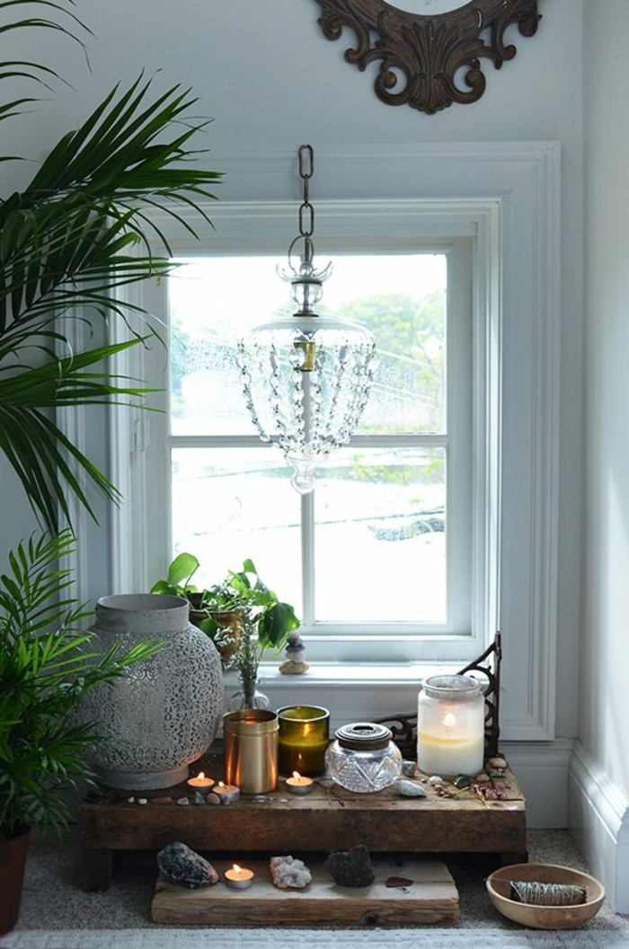 Japanese decor ideas with indoor plants Feng Shui