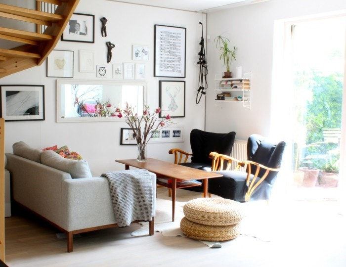 Set up furnishing tips for the small living room