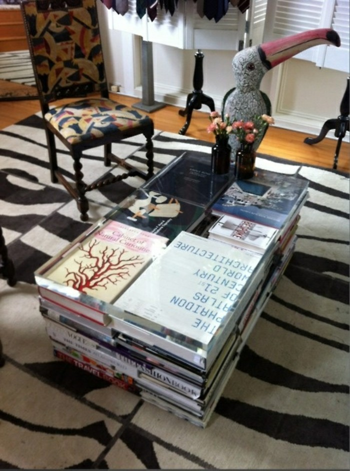 flat decorating coffee table crafting books living room ideas
