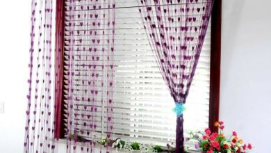 Photo of String curtain as a great accessory, room divider or just as a decoration?