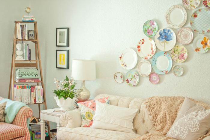 make a flat decorating wall decoration yourself