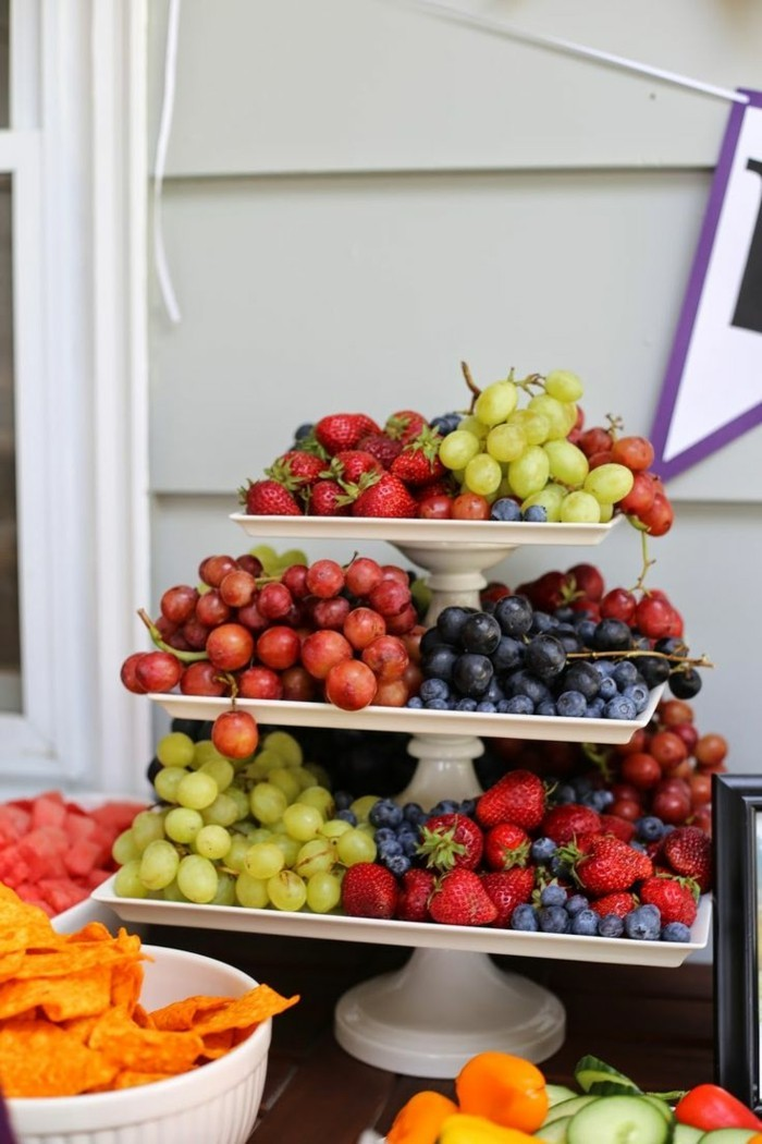 healthy breakfast ideas party decoration food fruits