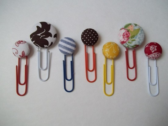 bookmark making great buttons