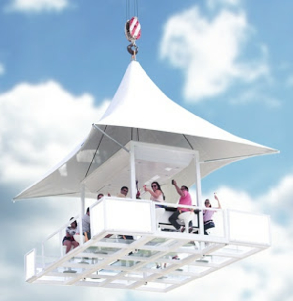 balcony canopy white funny attractive
