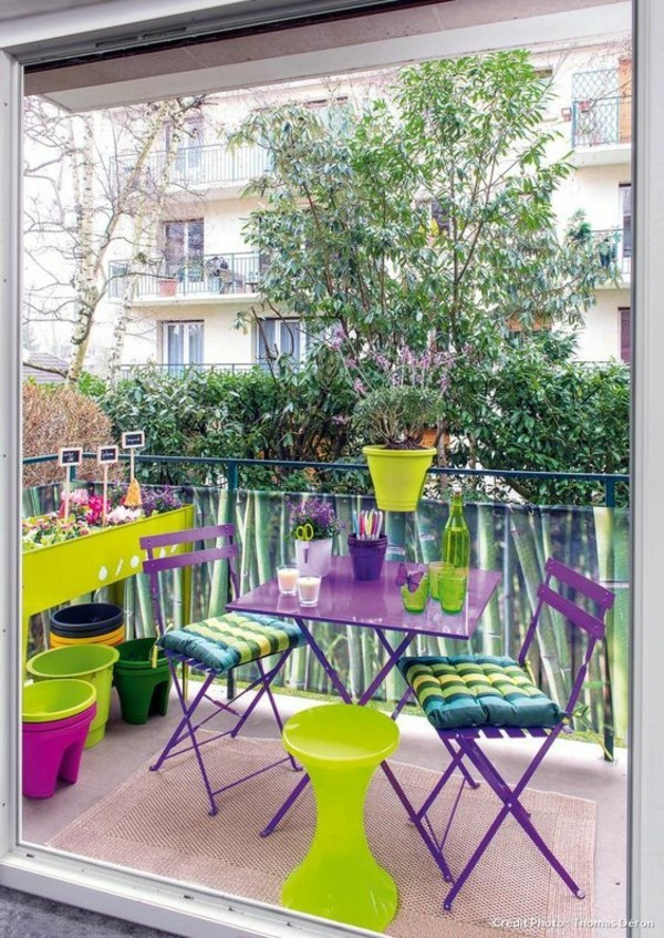 balcony decorating small terrace shape
