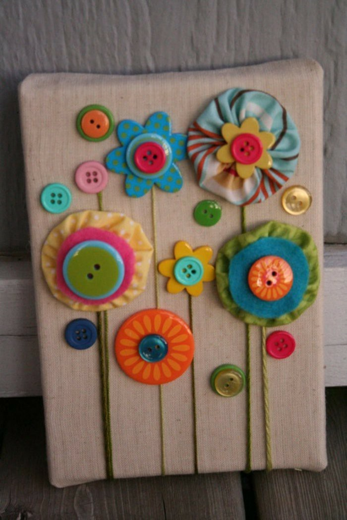 tinkering with buttons diy ideas decoration ideas mirror application