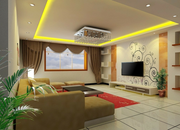 innovative lighting ideas living room pictures