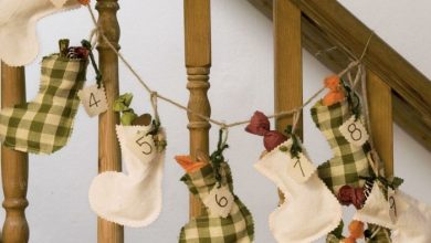 Photo of 41 Christmas decoration – decorate the staircase for Christmas!