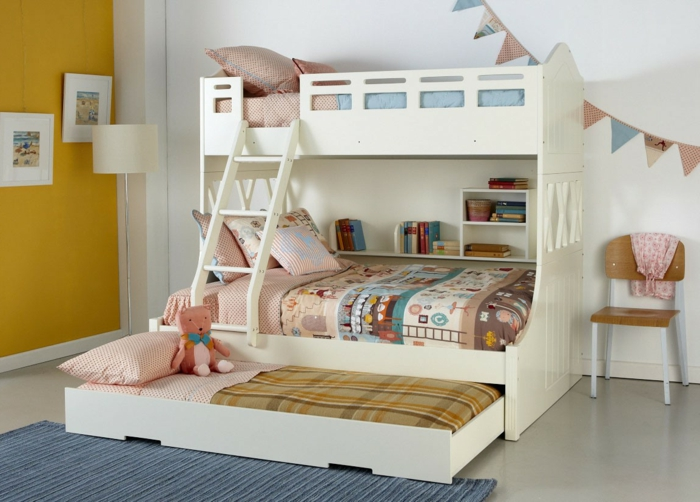 cots design roll bed nursery carpet yellow wall