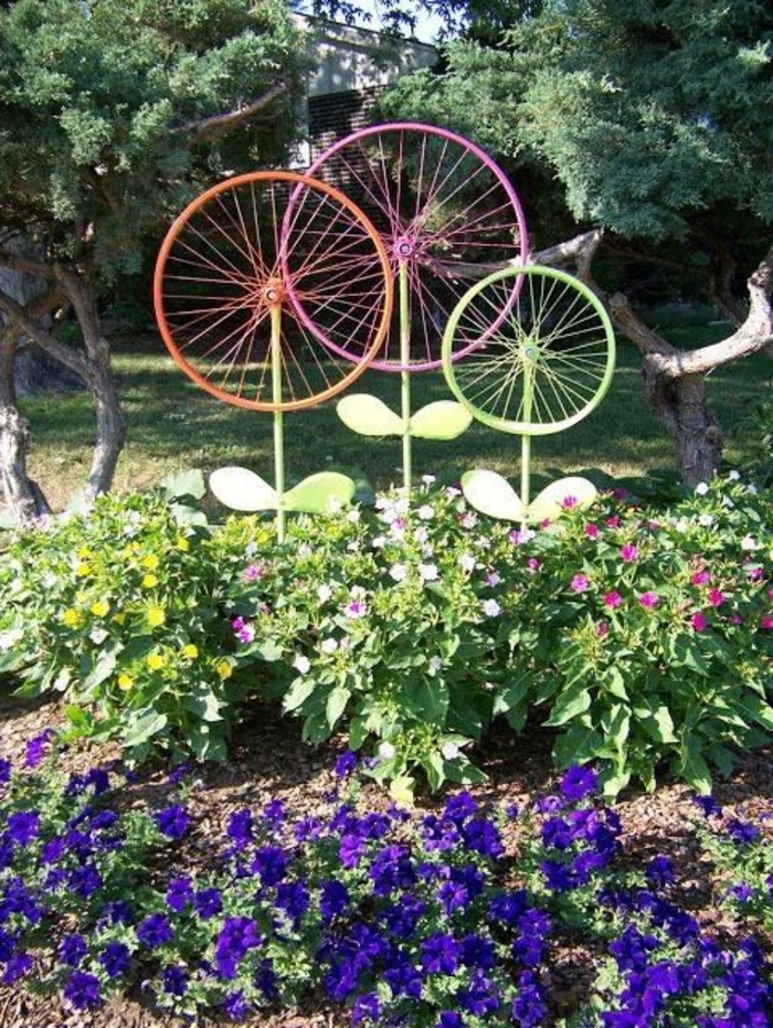 garden beautify fashion deco ideas wheels