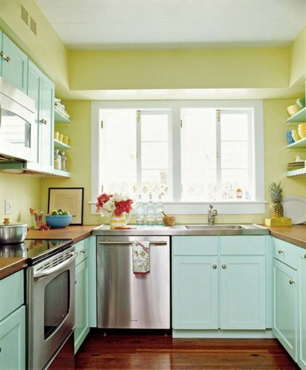 kitchen color combinatines for wall paints