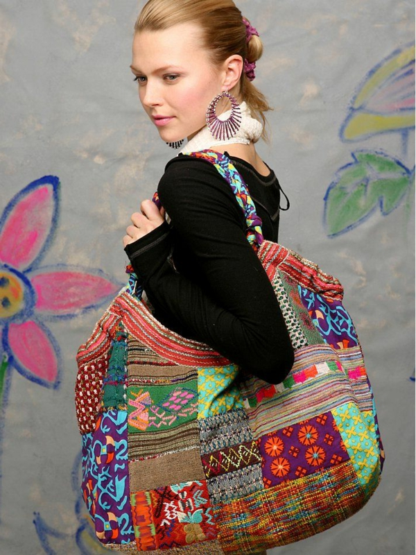 patchwork fabrics use original bag