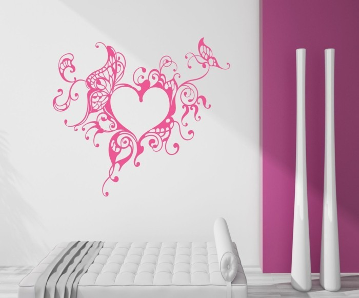 all the best for valentine's day wall stickers wall decoration ideas heart