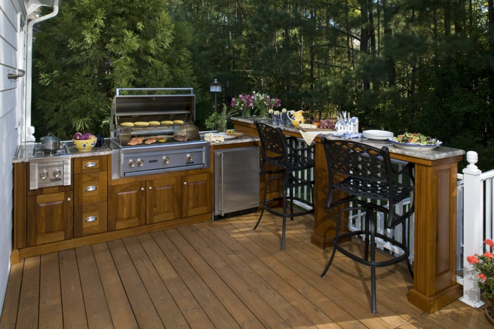 Outdoor kitchen build diy ideas yourself