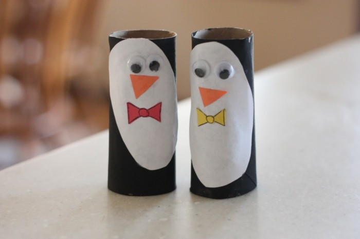 DIY Ideas Decoration Ideas Tinker With Children's Penguins