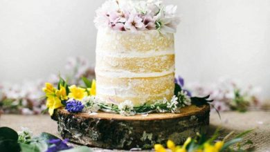 Photo of Cake decoration in boho style – 47 beautiful delicacies for the perfect wedding celebration