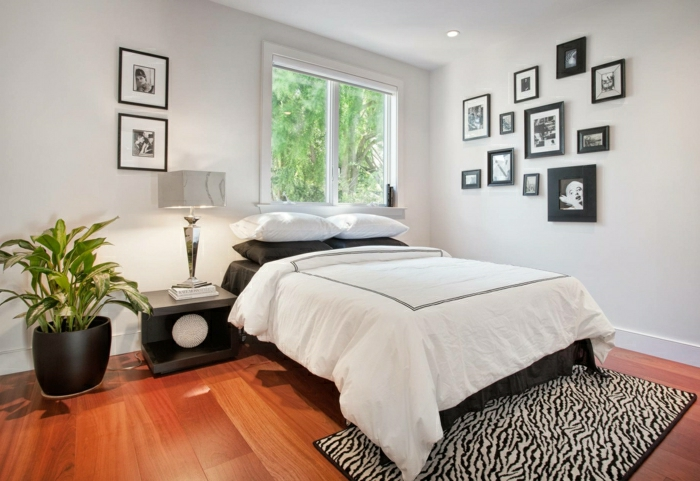 decor ideas bedroom plant pictures bedside table