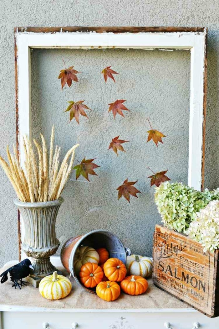 autumn deco ideas nfarbgestaltung diy ideas bastelideen14