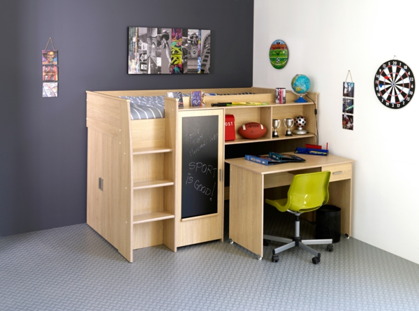 Small children's room set up practical cots