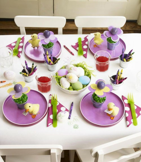 easter decorations tinker table decoration easter easter decoration ideas
