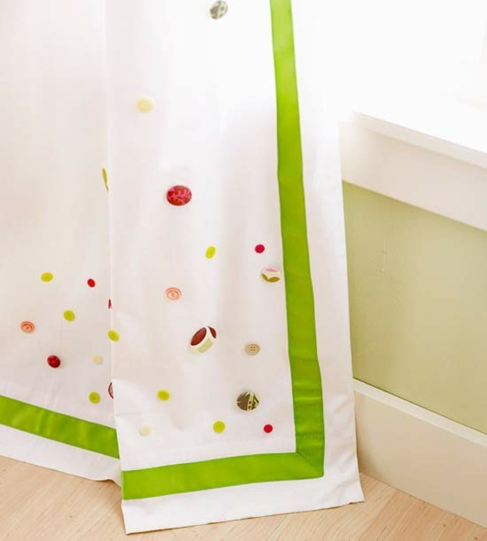 tinkering with buttons diy ideas deco ideas curtain