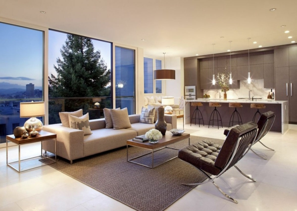 Greatly furnished living area