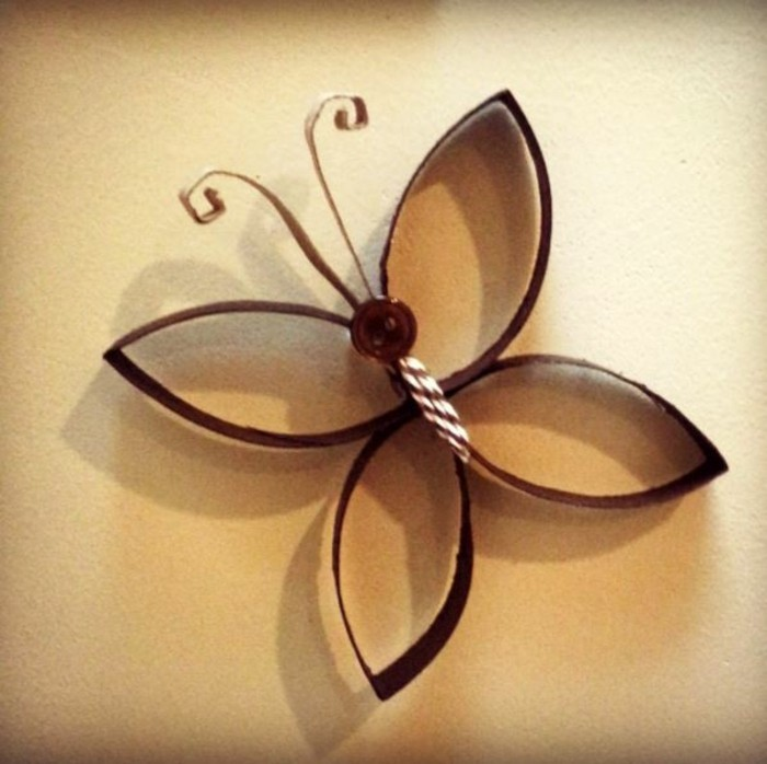 DIY ideas - deco ideas - tinker with children's butterfly