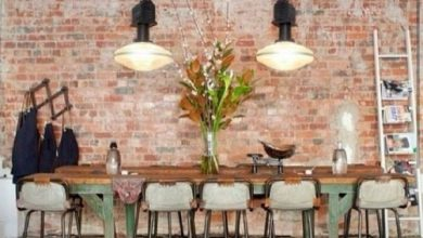 Photo of Make wall decoration yourself: fake brick wall as a rustic decoration