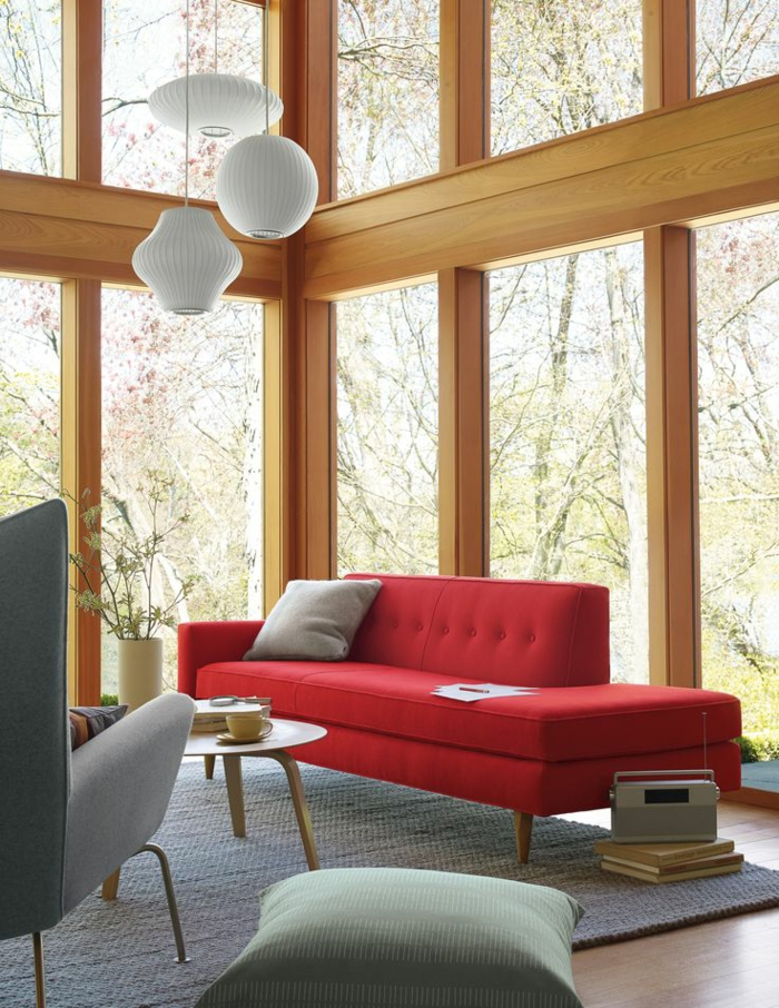 sofadesign red sofa sofa red
