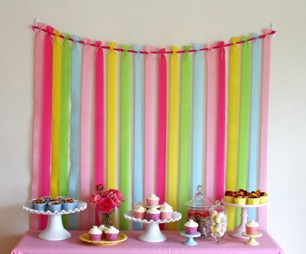 blackboard birthday decorate yourself colorful stripes