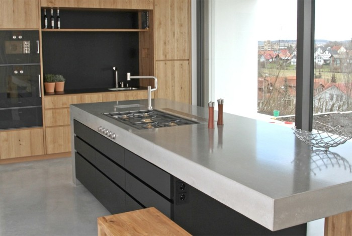 Concrete design countertops