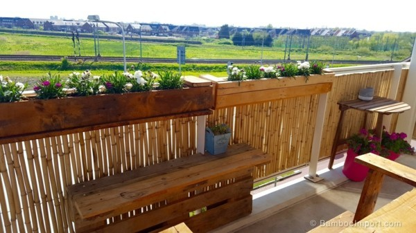 balcony ideas bamboo bars design