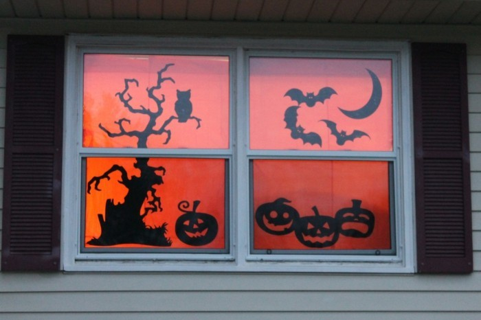 Make window pictures stylish with children