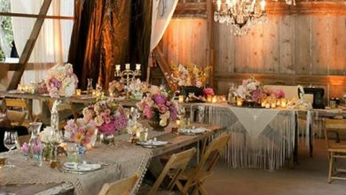 Photo of Wedding table decoration for a memorable wedding day full of sparkle
