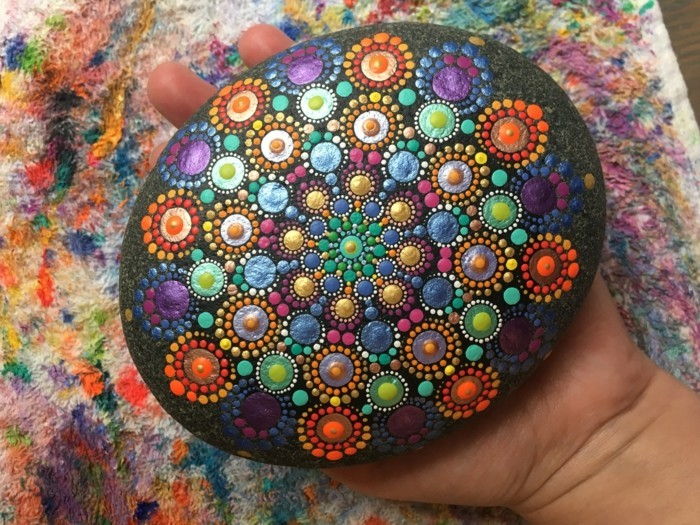 manala pattern stones painted egg