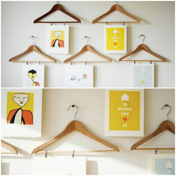 Make wall decoration yourself
