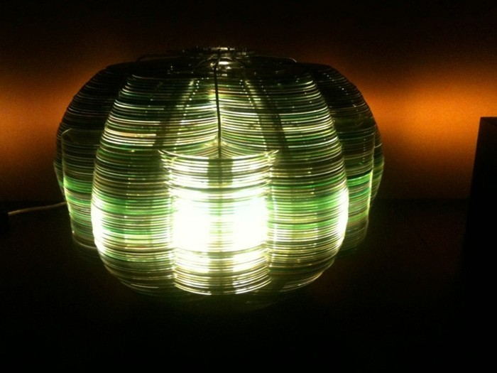 recycling craft with cds upcycling ideas wall decor ideas mandala template diy lamp