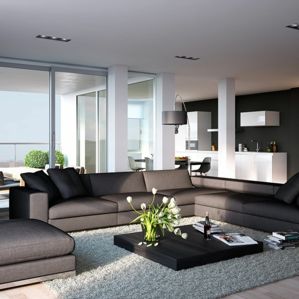 living room sofa corner sofa stylish