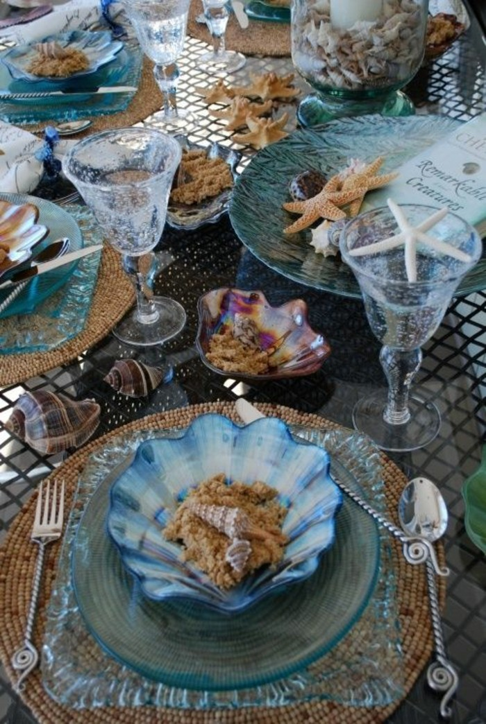 tableware set table decoration summer party decoration