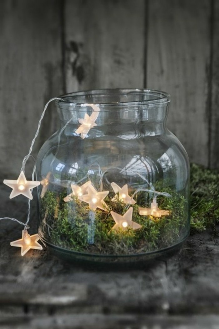 tinker christmas fairy lights mason jar