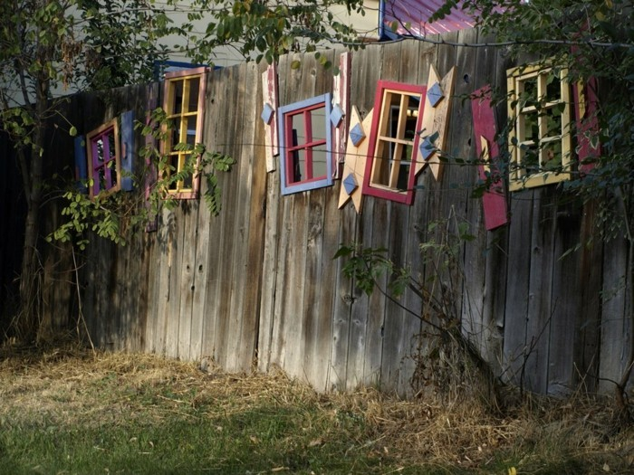 fancy garden decor itself make rustic decoration for the garden fence