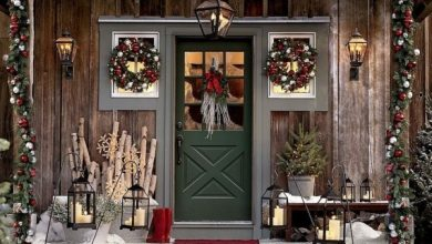 Photo of Christmas decoration for house entrance spreads festive mood – 44 outdoor decoration ideas
