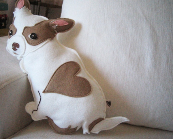Creative throw pillows pillow pet dog