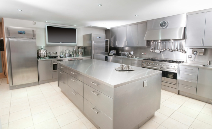 stainless kitchen cleaning cleaning agent kitchen properly maintain