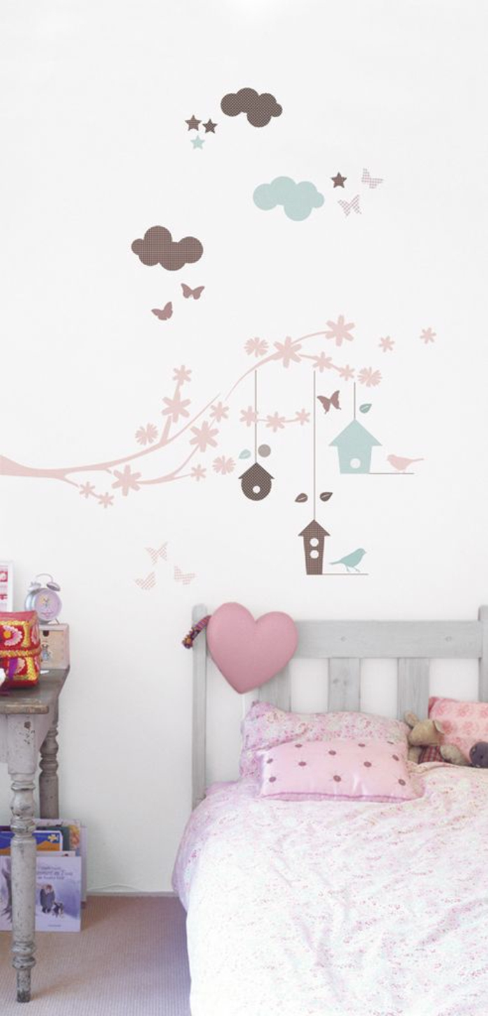 wall decal nursery wall design ideas funny girl room