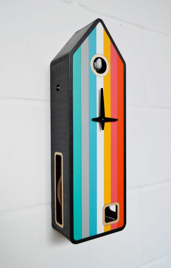 colorful cuckoo clock